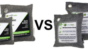 Nature Fresh Air Purifier vs Breath Green Charcoal Bag