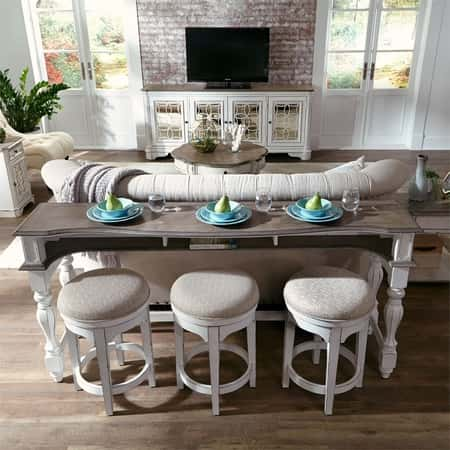 Best Sofa Tables with Stools